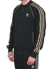 LARGE adidas Originals Superstar TRACK Pants & TRACK TOP JACKET  JUNGLE INK NWT