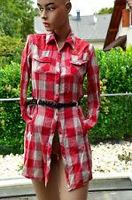 KAPORAL -Très jolie chemise rouge à carreaux - taille16 ans - EXCELLENT ÉTAT