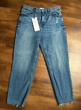 Size 12 'short' River Island 'Denim Edition' Luxe Edition straight jeans
