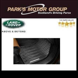 Genuine Range Rover Velar  Rubber Floor Mats Set (Front & Rear) VPLYS0414