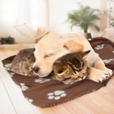 Soft warm fleece pet blanket, dog and cat mat, puppy sofa bed (3 pieces)
