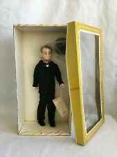 """ABRAHAM LINCOLN, #7902, 17"""" DOLL, EFFANBEE, WITH ORIGINAL BOX, 1983!"""