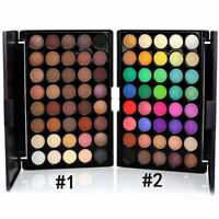 40 Color Eyeshadow Cream Eye Shadow Makeup Cosmetic Matte Palette Shimmer Set KK
