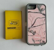 Unused OtterBox Defender Case iPhone 5 / 5S WITHOUT HOLSTER - Realtree Camo Pink