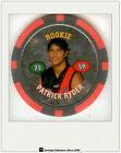 2008 Topps AFL Poker Chipz Silver Rookie Chipz Patrick Ryder (Essendon)