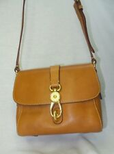 NEW Dooney & Bourke Florentine Leather Small ASHLEY Messenger Bag NATURAL
