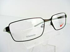NEW Nike TITANIUM 6058 (203) Satin Walnut  56 X 16 145 mm Eyeglass Frame