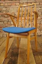 Vintage Armlehner - Mid Century Design Holz Stuhl / Retro Loft Lounge Chair 50er