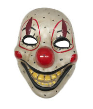 Smiling Clown Moving Mouth Mask Scary Horror  Halloween Circus Fancy Dress Smile