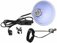 Reptile Lizard Pet Lamp Terrarium Heat Light Base Fixture Clamp Uv Switch 5.5In