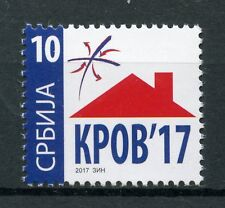 Serbia 2017 MNH KPOB Roof Help for Homeless Tax 1v Set Stamps