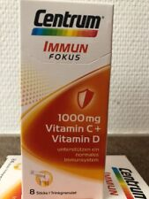 Centrum Inmune enfoque 1000mg 8 STICKS Vitamina C+D SISTEMA INMUNE trinkgranulat