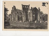 Melrose Abbey From South East RP Postcard 496a