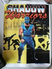 Shadow Warriors-Bob Wakelin impresión firmada
