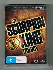 The Scorpion King Trilogy (3-Movie Collection) Dvd 3-Disc Set Brand New & Sealed