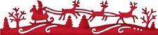 Cottage Cutz Elites Die - Santa Reindeer Border - Xmas - CCE-313 - SALE