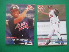 JEFF FRANCOEUR - 2002 Danville Braves  set