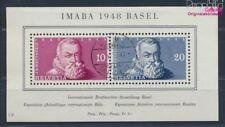 Suisse Bloc 13 oblitéré 1948 IMABA bâle (8618653