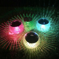 Schwimmkugel Solar LED Teichbeleuchtung Solarkugel Teichlampe Solarlampe Garten