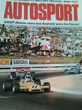 Autosport March 11th 1971 *BMW 2800 CS Road Test & South African Grand Prix*
