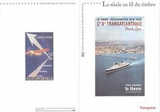 Document Philatélique 1er Jour : 23/03/ 2002  Siècle au fil du Timbre Transports