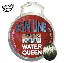 Nylon Water Queen Fun Line 0.24mm 4.000kg 100m