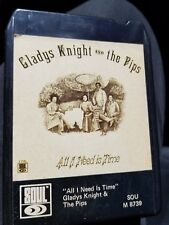 Gladys Knight and the Pips All I need is Time 8 TRACK TAPE SOU M 8739 Ampex