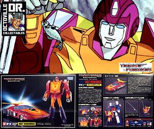 Transformers Takara Tomy Masterpiece MP-28 Hot Rodimus / Hotrod Ex display