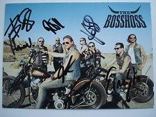 BOSSHOSS   __   FLAMES OF FAME  __   Autogramm  __  Autogrammkarte