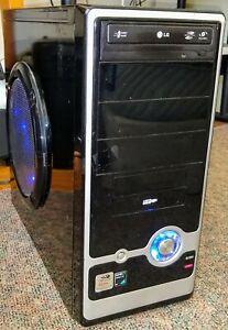 Custom PC Athlon 64 X2 5200+ 2.69 GHz Processor. Gigabit LAN N68PV-GS Mobo As Is