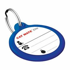 PET MATE ELECTRONIC ID DISC SPARE REPLACEMENT CAT COLLAR TAG ELITE DOOR FLAP