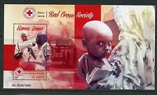 SIERRA LEONE 2015  RED CROSS SOCIETY  SOUVENIR SHEET  MINT NEVER HINGED