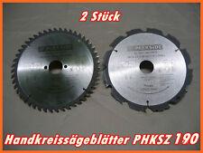 PARKSIDE 2Stück Handkreissägeblätter PHKSZ 190 A1 (20)