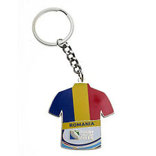 Rugby World Cup 2015 Romania Jersey Flag Key Ring