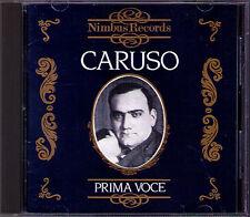 Enrico CARUSO: PRIMA VOCE Manon Tosca Rigoletto Il Trovatore Pagliacci NIMBUS CD