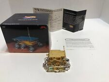 HOTWHEELS LIMITED EDITION SOJOURNER MARS ROVER 24KT GOLD PLATED HOT WHEELS