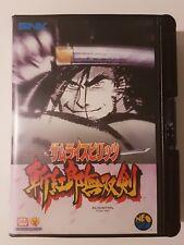 SAMURAI SHODOWN 3: Jeu complet Neo Geo AES 100% original SNK Japan version