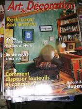 Art et Décoration N° 337 1995 Les vieux jeux Le meuble de Rouen Ivoire Ecaille