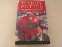 Harry Potter and the Philosopher's Stone HB Book 1st Ed 11th Print Bloomsbury