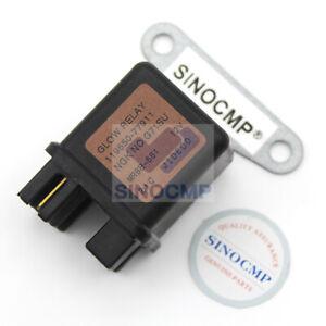 12V Glow Plug Safe Relay 119650-77911 for Yanmar Engine No.4TNV94 Excavator Part