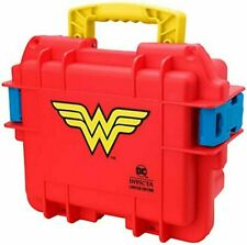 Invicta DC Comics WONDER WOMAN 3 Slot Impact Case RED