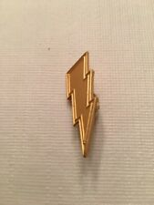 NFL San Diego Chargers Lapel Lighting Bolt Pin VINTAGE 1990s Officially Licensed