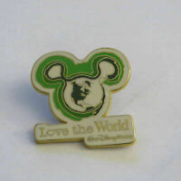 Disney Love the World Pin