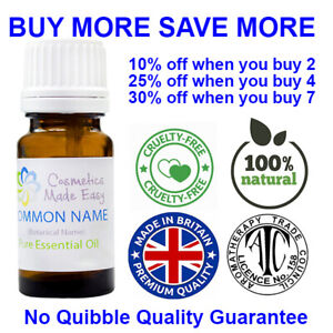 10ml Essential Oils - 100+ Fragrances 100% Pure & Natural, Excellent Quality Oil
