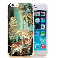 "PELLICOLA+Custodia cover rigida per Apple iPhone 6 6S 4.7"" BOTTICELLI VENERE"