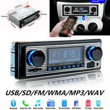 Bluetooth Vintage Car FM Radio MP3 Player USB AUX Classic Stereo Audio Receiver