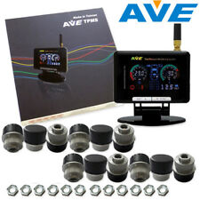 AVE Truck TPMS TLCD 12 External Sensors + Antenna Get Free LF Easy and Quick DIY
