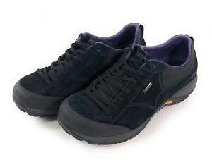 Dansko Paisley Black Suede Shoes Women US 8.5 EU 39 Slip Resistant Waterproof