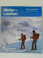 Wetterlawinen Wetter Lawinen Alpin Lehrplan 9 Alpenverein