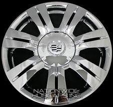 "4 CHROME 10-16 Cadillac SRX 18"" Wheel Skins Hub Caps Rim Covers & Center Caps LC"